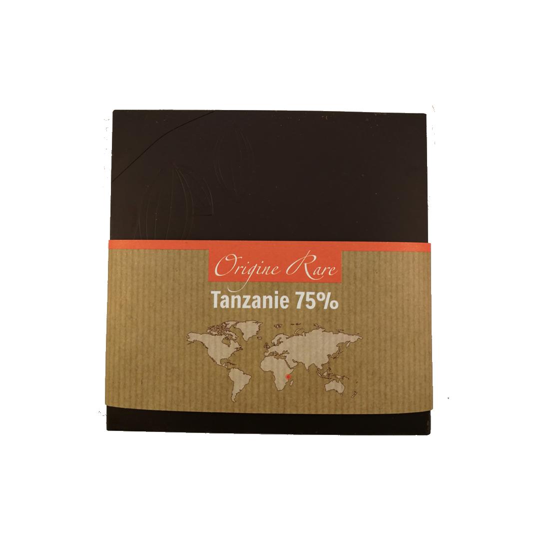 Fabrice Dumay maître chocolatier tablette - Tanzanie 75%